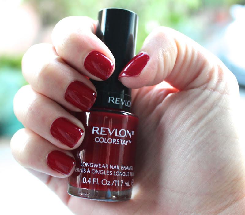 Viola Beauty: Nail Of The Day: Revlon Colorstay Velvet Rope