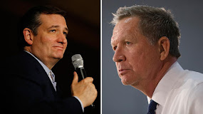 CRUZ AND KASICH, FACES OF CONSPIRATORS.