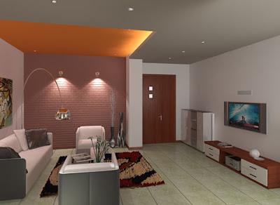 diseño de  sala de casa