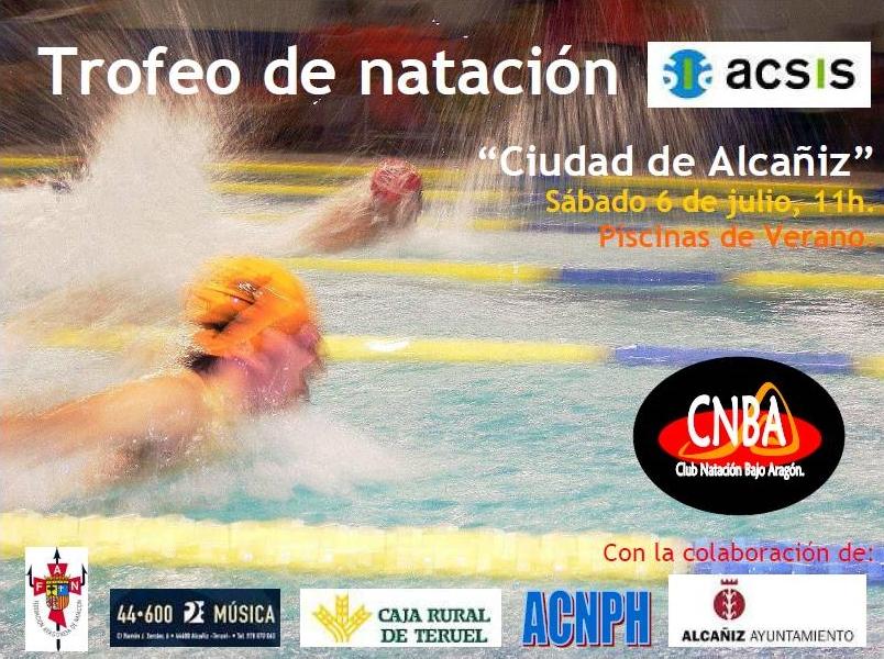 Club nataci n bajo arag n iii trofeo acsis ciudad de alca iz - Piscina municipal jaca ...