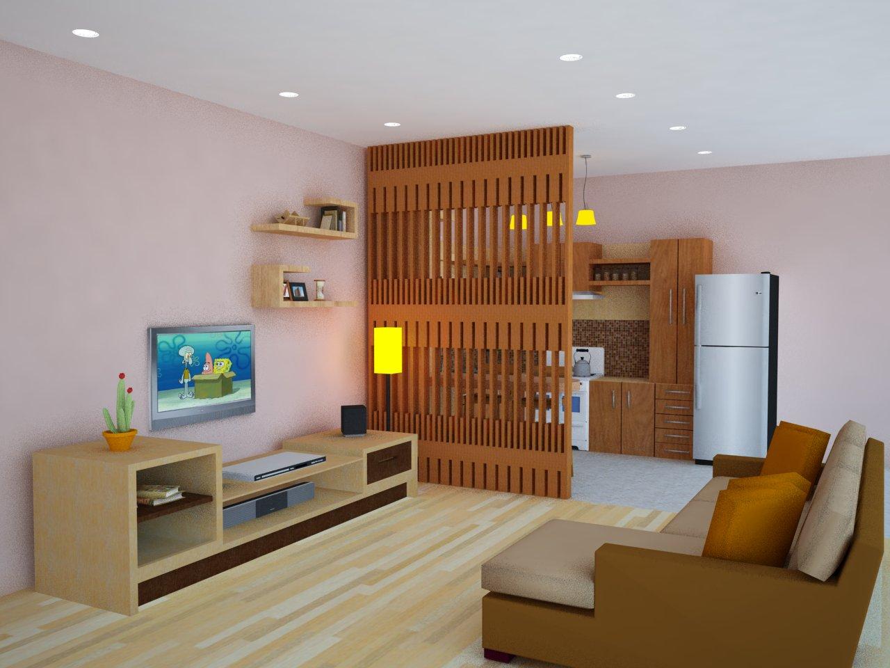 konsep desain ruang keluarga lebar dan sehat