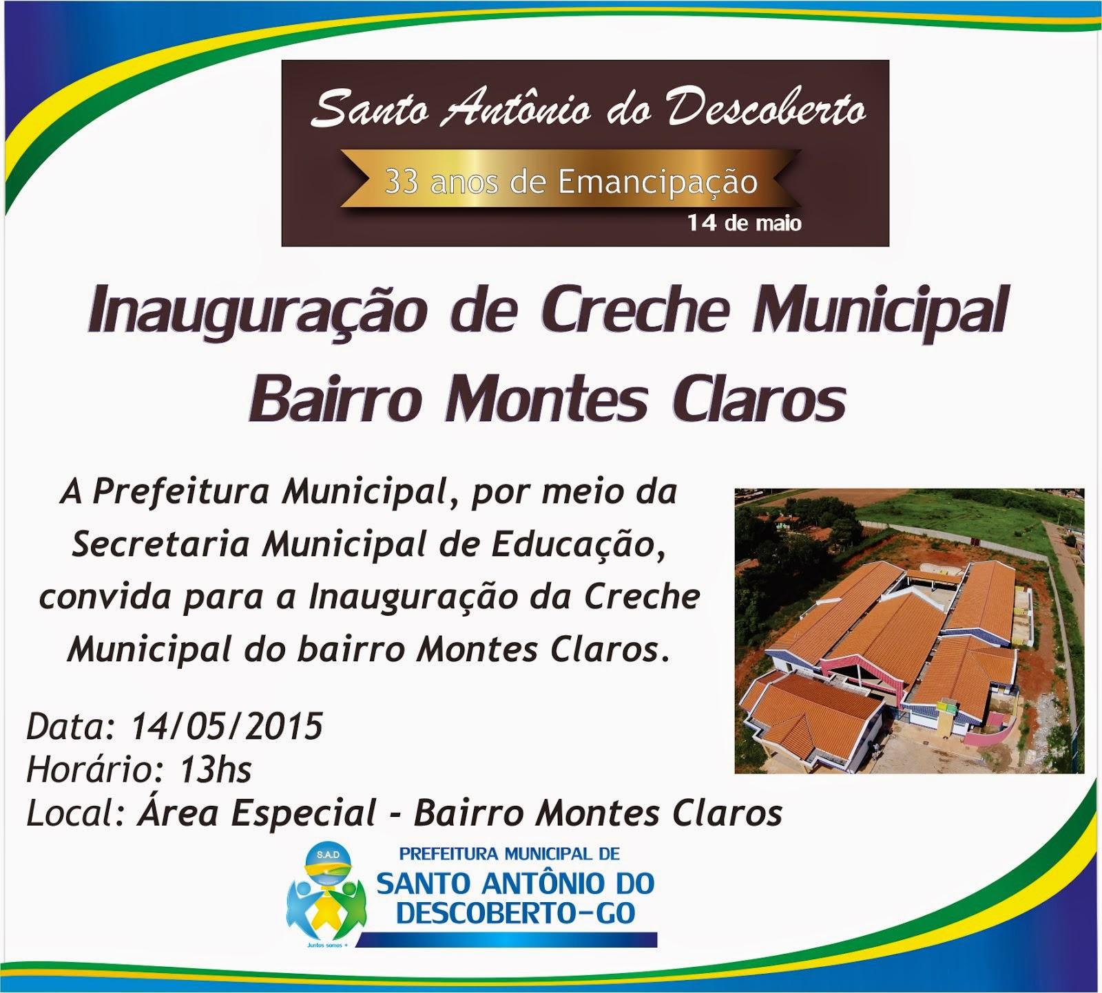 Inauguração Creche Municipal