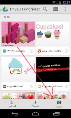 Google Drive добавляет функцию сканирования в мобильные устройства