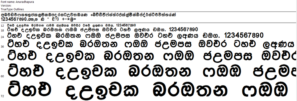 ❸ Direct Download Sinhala Fonts and Sinhala Unicode Converter ...