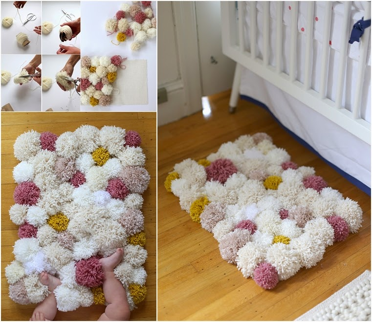 DIY Cozy Pom Rug Craft Projects