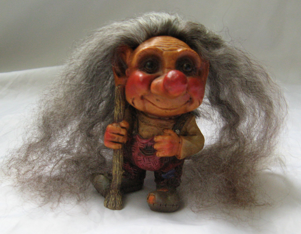 Good Closet Vintage Troll Doll