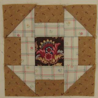 Blok 22 van 1865 passion sampler quilt