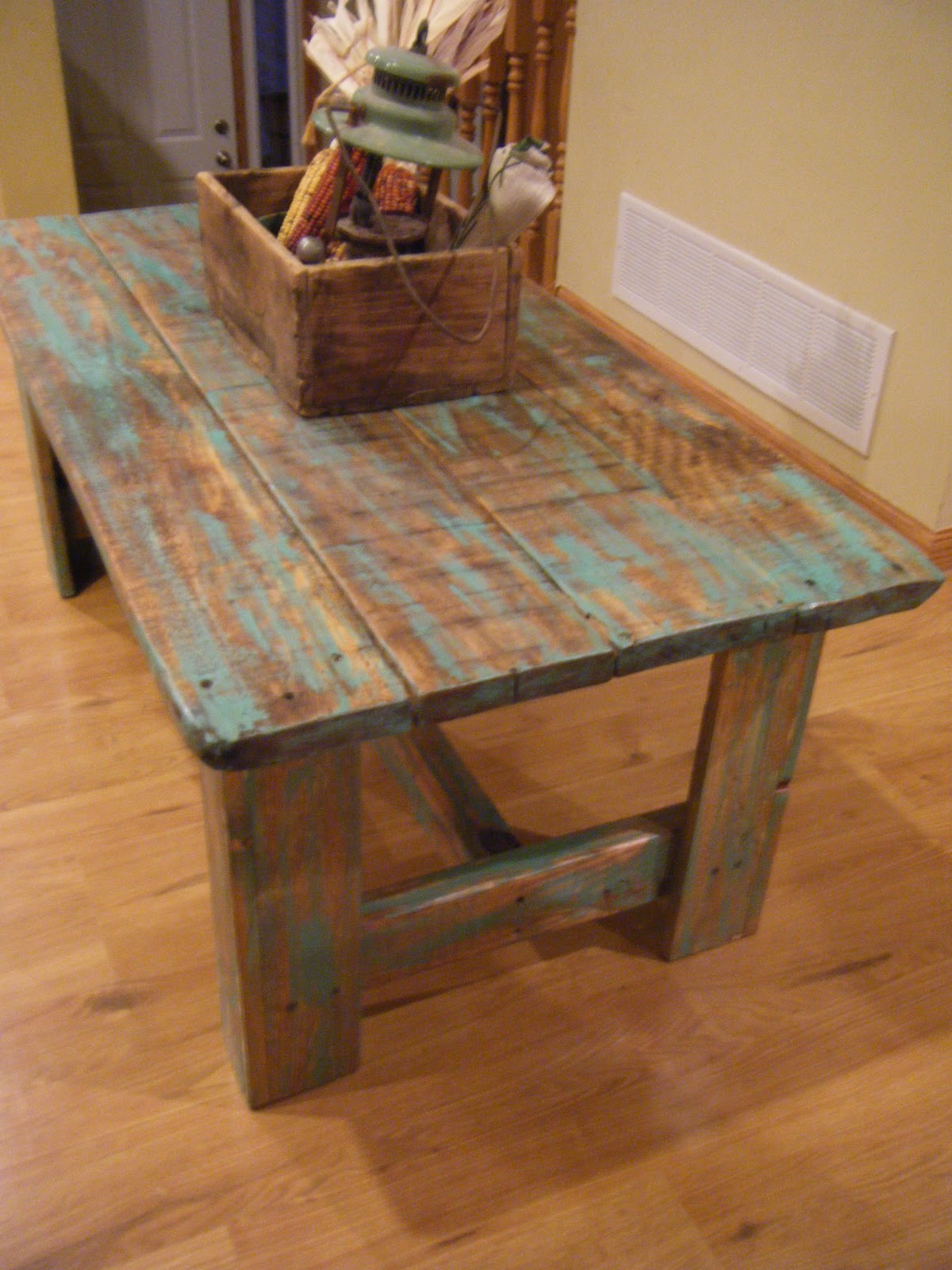 Tattered Lantern Coffee Table Sold