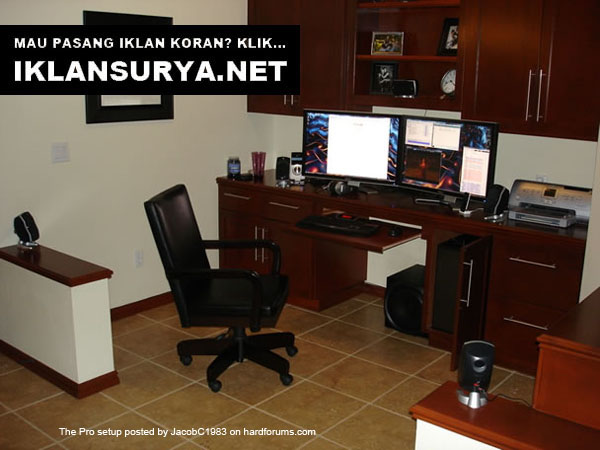 Ruang Kerja IT Pro Desktop Home Office