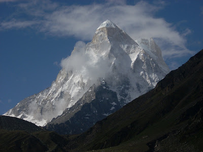 Shivling Peak, Trek to Nandanvan and Tapovan from Gangotri