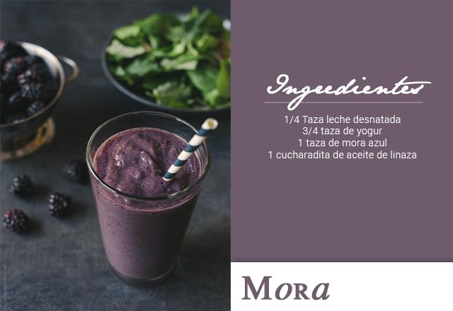 Smoothie de Mora