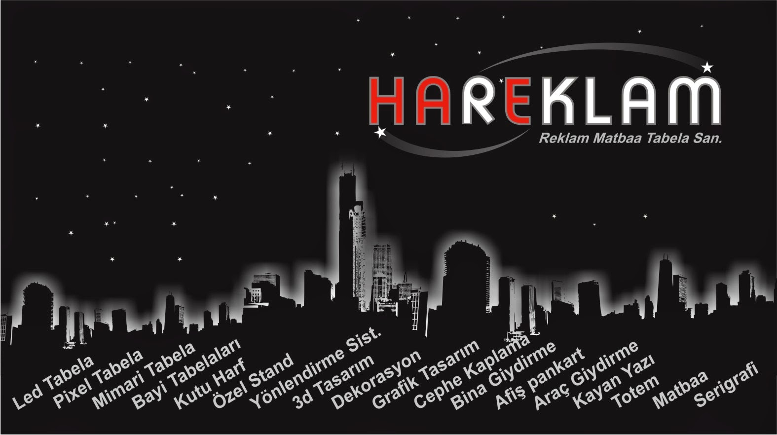 Ankarada Tabelacı / Totem Kutu Harf Tabela 0542 286 50 80