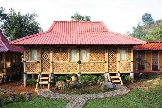 E    Contoh Gambar Desain Rumah Adat Provinsi Jawa Barat Keterangannya