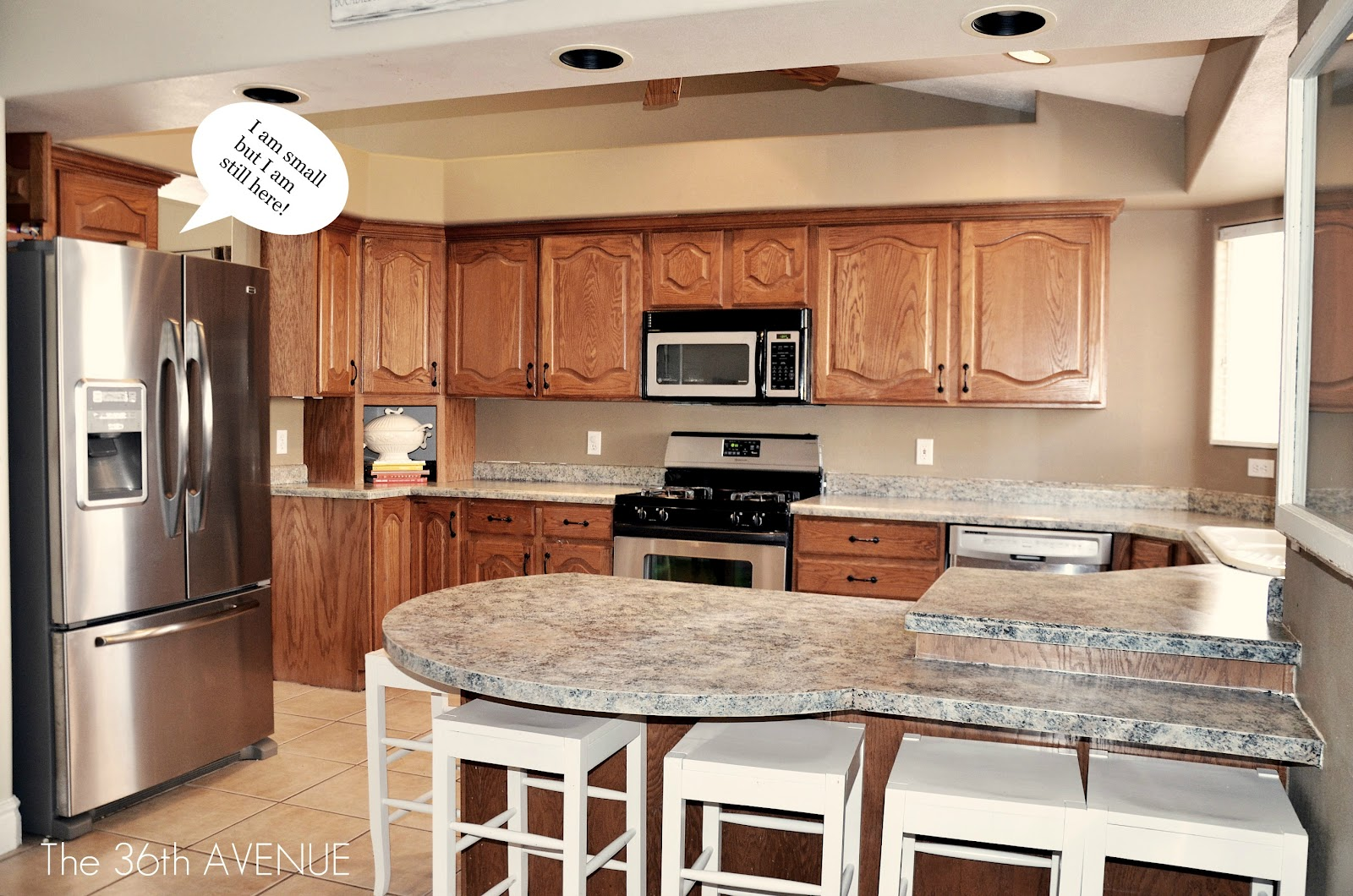 Kitchen Accent Cabinet Tutorial and Party! - The 36th AVENUE