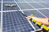 Czyszczenie paneli słonecznych iSolar Karcher