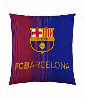 Funda cojín 60x60 FCBarcelona. ref: FUTC14 Euromoda
