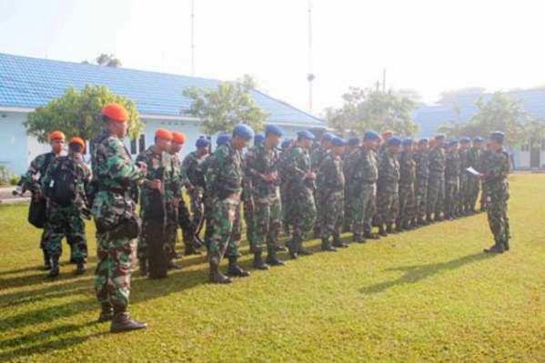 TNI Jamin Keamanan Presiden Saat Kunker ke Kalimantan Selatan