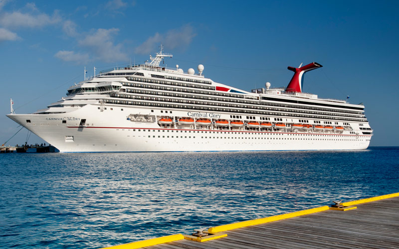 Carnival Glory accident