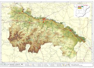 Mapa de La Rioja (España)