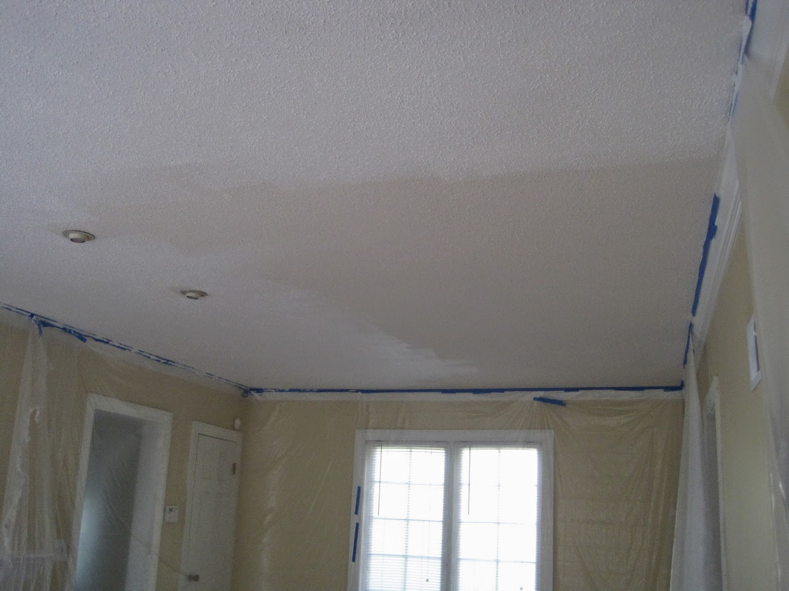 Decorated Chaos Tips For Painting A Popcorn Ceiling
