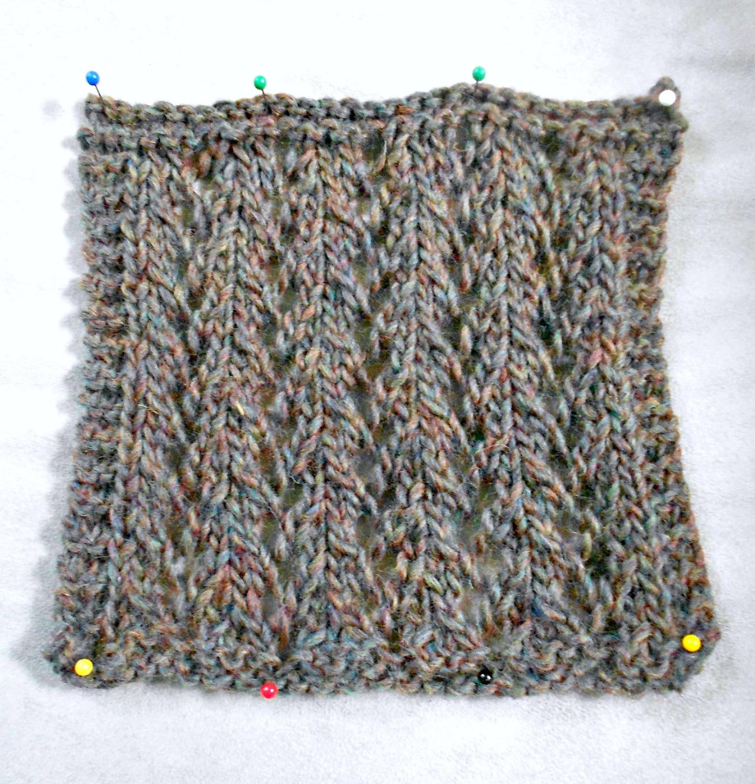 Ladder Lace Knitting Pattern : Blue Betty: Stitch Guide: Eyelet Ladder