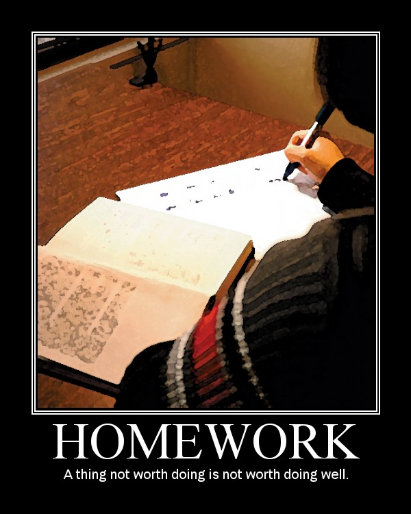less homework is better