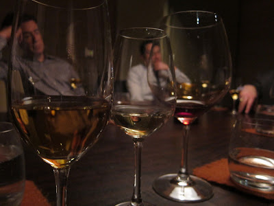 Dessert wines at Coi
