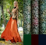 Maxi Spandex Cardi Songket SOLD OUT