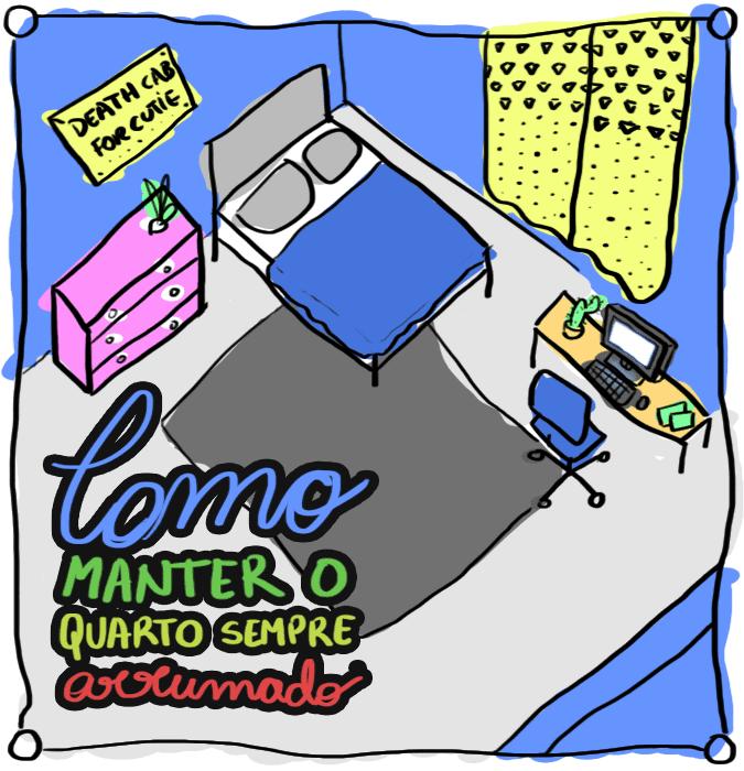 Como manter quarto sempre arrumado