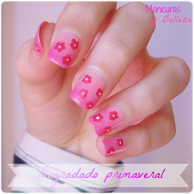 Nail Art Degradado Primaveral Flores Facil Mate moreover  on nail art degradado primaveral flores facil mate