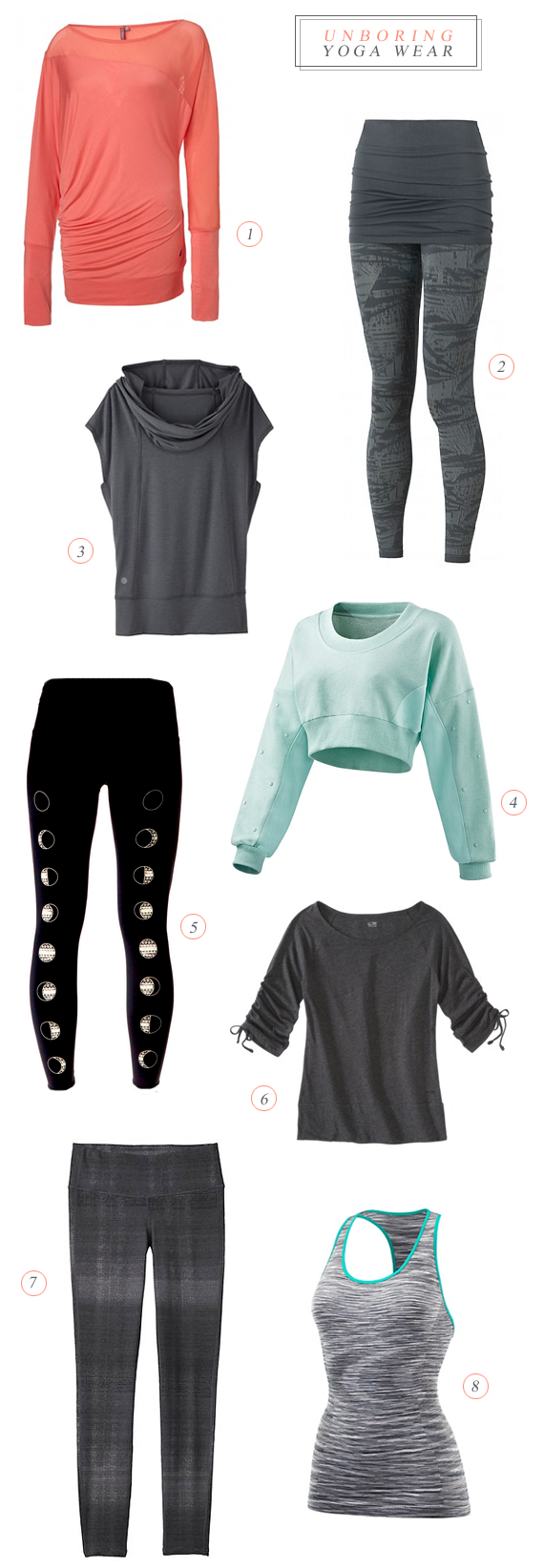 Stylish Yoga Wear // Bubby and Bean