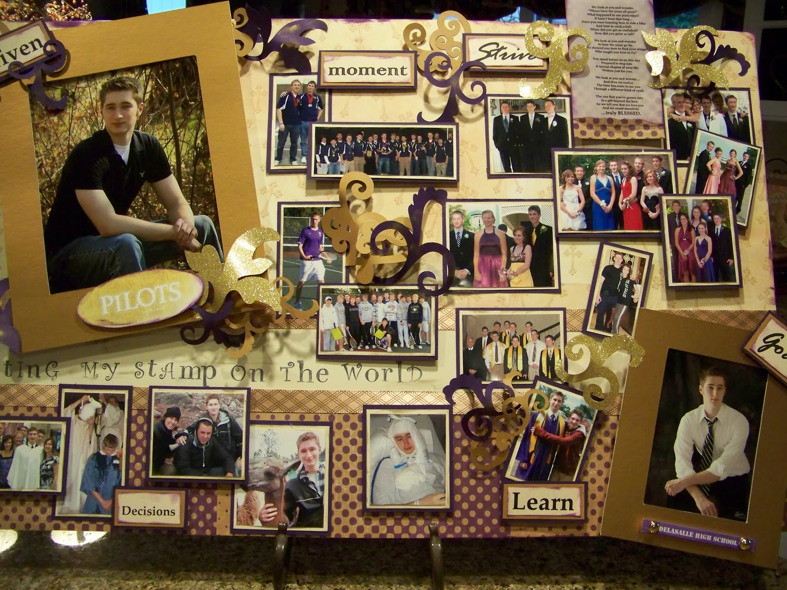 ... one of a kind graduation gift or planning a graduation party this