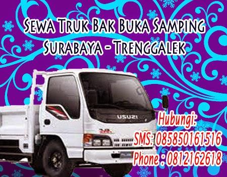 Sewa Truk Bak Buka Samping Surabaya - Trenggalek