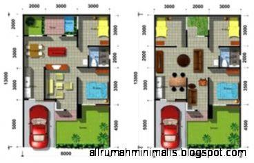 denah rumah minimalis type 60 | design rumah minimalis