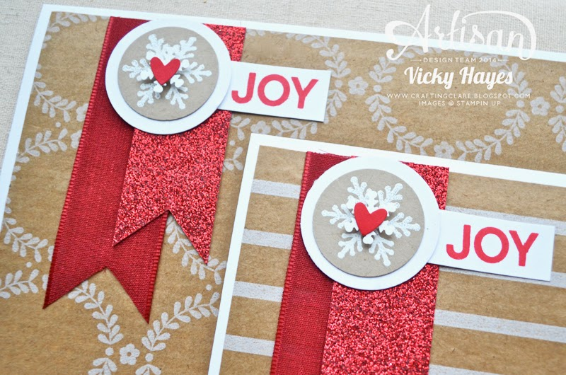 Stampin' Up ribbon, paper,embellishments and punches all available to buy online from my shop