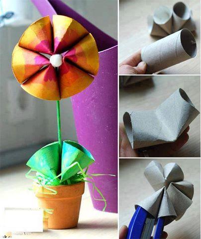 Reutilizar portarrollos de papel higienico construccion for Portarrollos de papel higienico