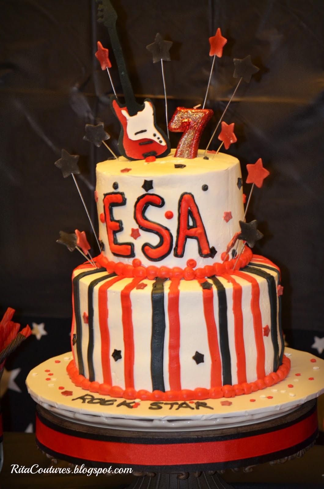 Rita Couture Happy Birthday Rock Star Esa