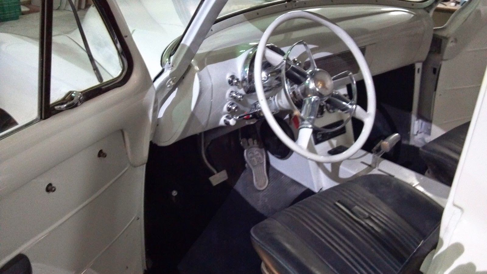 Daily Turismo 10k Oldsmocamino 1949 Oldsmobile Custom Pickup Chevy Truck Engine Swap Speaking Of Foolishness And Mayhemthe Barefoot Shaped Gas Pedal Rears Its Ugly Head Unfortunately The Seller Does Not Include A Good Detailed Set