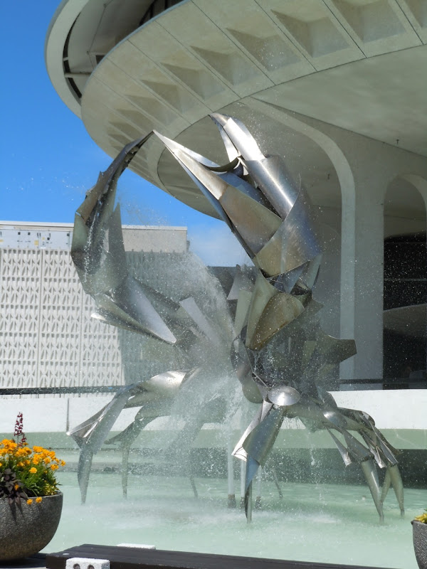 Crab fountain Museum of Vancouver