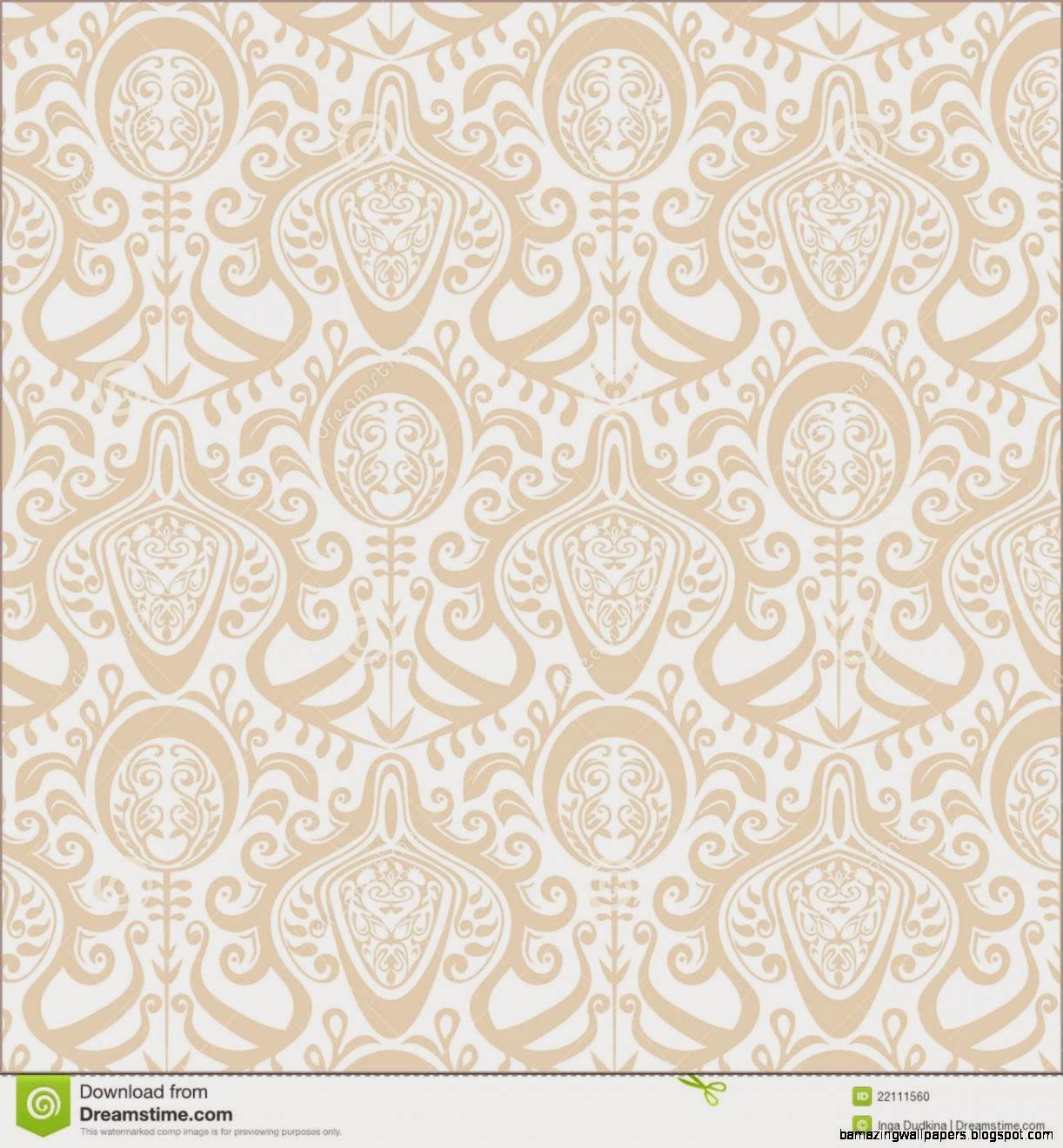 Vintage Wallpaper Pattern Stock Photo   Image 22111560