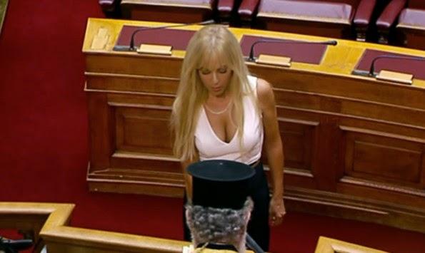 Ορκίστηκε η καυτή βουλευτίνα της ΝΔ που μπήκε στην βουλή με μόλις 293 ψήφους!