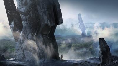 Jonathan Bach Concept Art Halo 4