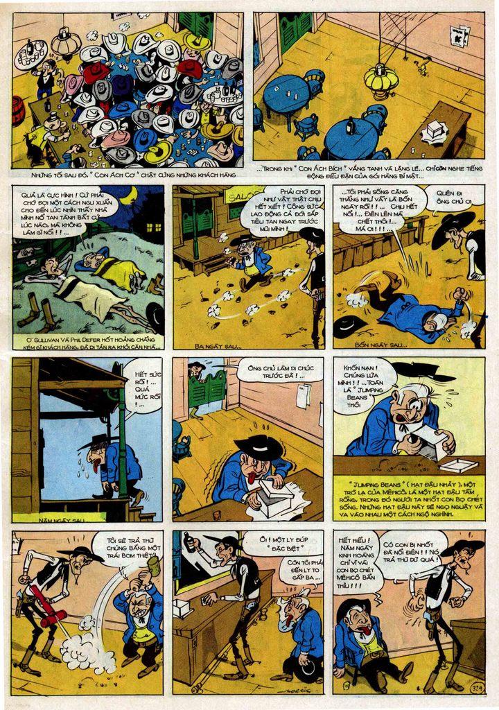 TruyenHay.Com - Ảnh 29 - Lucky Luke Tập 25 - Nhện Chân Dài