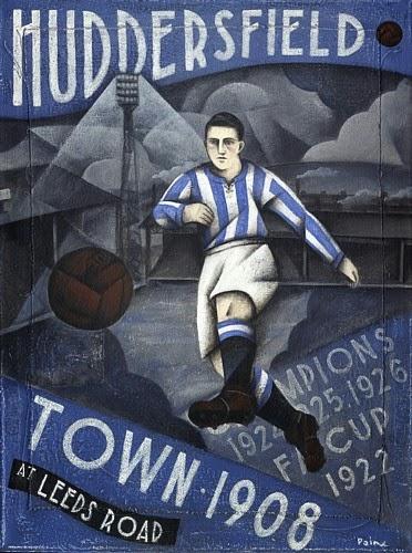 Huddersfield Town print by Paine Proffitt