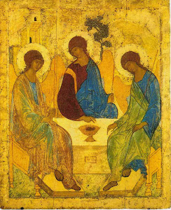 Andrei Rublev &#39;Holy Trinity&#39; (1410)