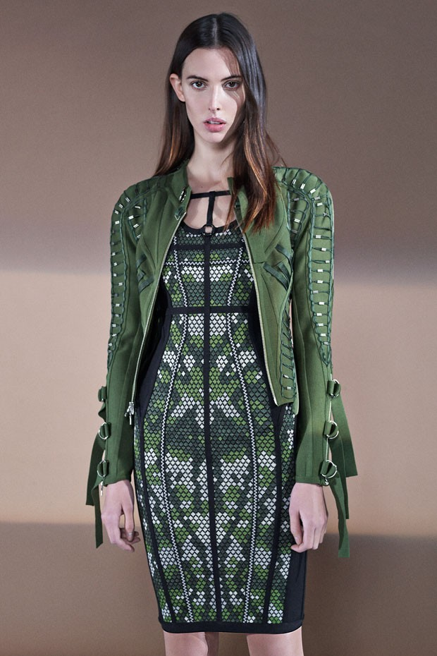 Dress Present Pair Of Pants Designs Here And There In Addition To The Few Eye Catching Jacket Trips Discover More Hervé Léger By Max Azria