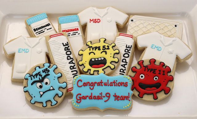 science cookies, virus cookies