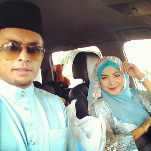 Gambar Keluarga Ayu Raudhah & Aidil Zaquan