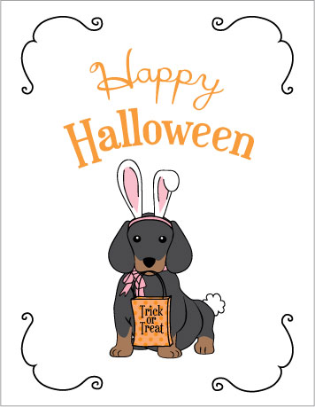 Lucrative image within happy halloween cards printable
