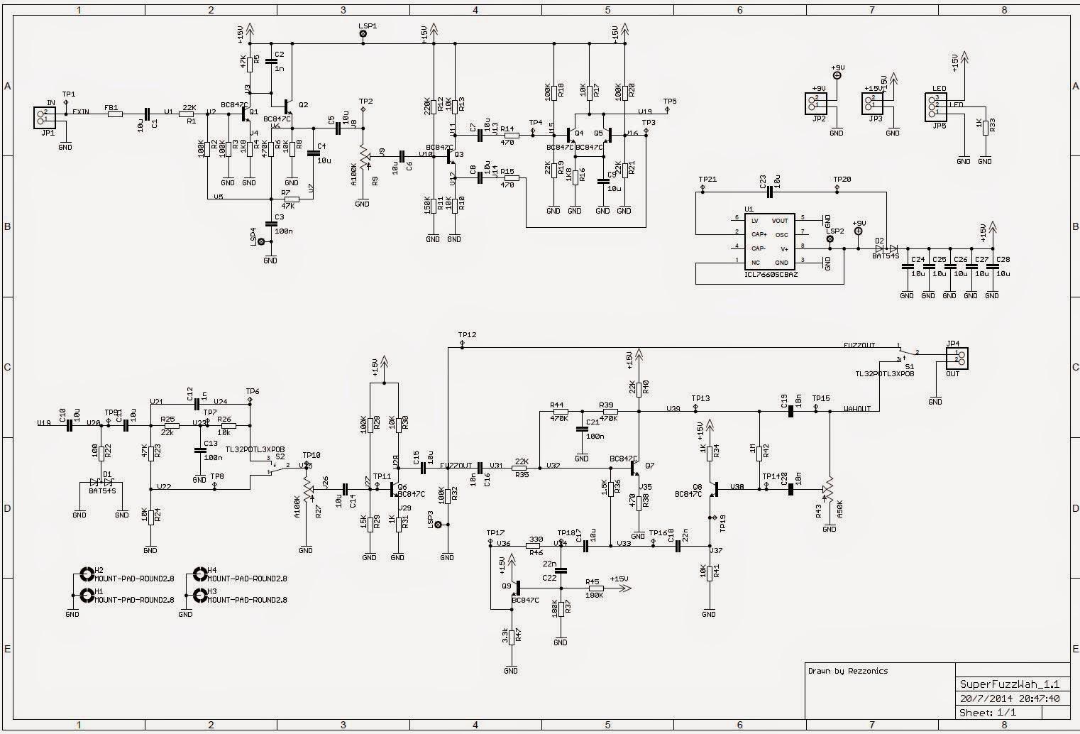 Univox Super Fuzz Schematic Wiring Diagram Libraries Wah Pedal Rezzonics 2014fuzz Schematics